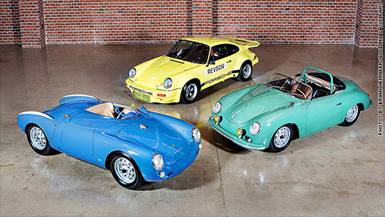 Jerry Seinfeld's Porsches expected to fetch millions at auction