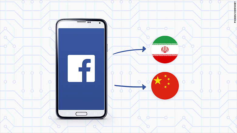 facebook android censorship