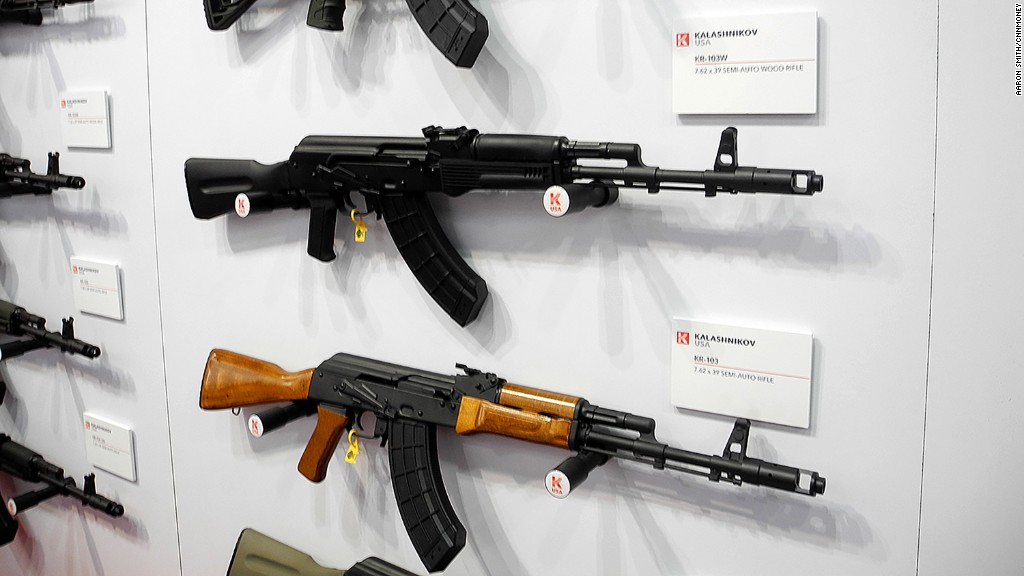 Kalashnikov AK-47s, now made in Florida