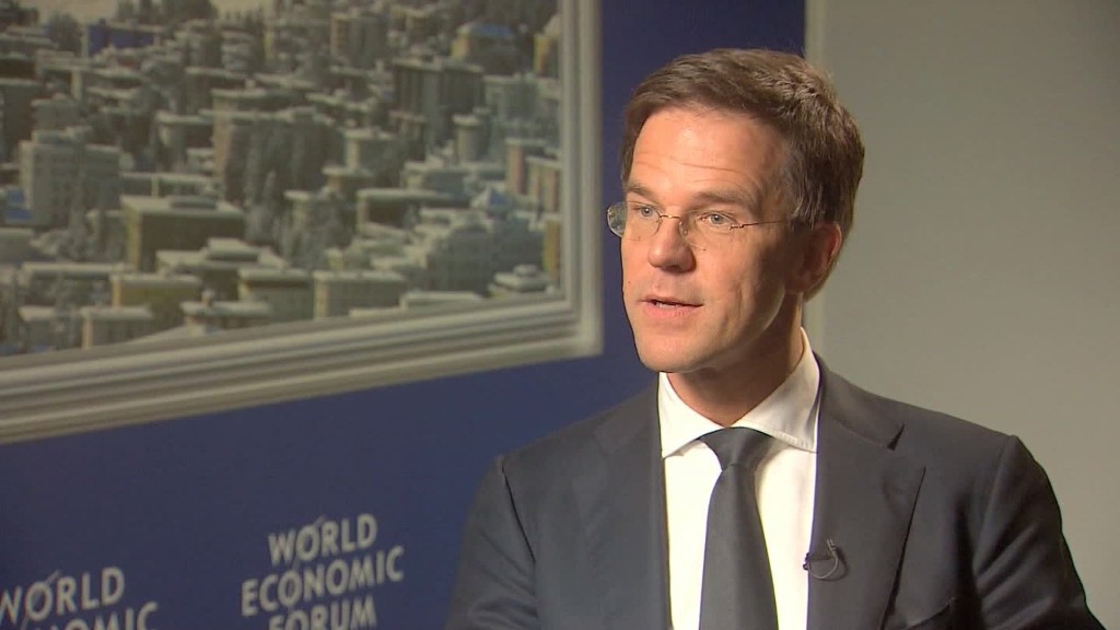 Netherlands PM: 'Sense of urgency' on migrant crisis