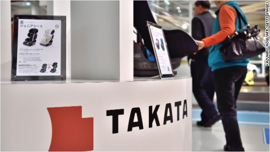Takata shares nosedive after another death linked to faulty airbag