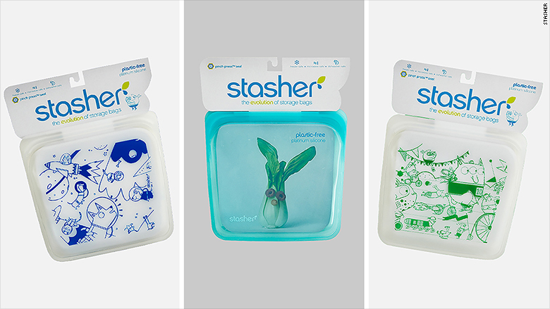 stasher silicone sandwich bags 2