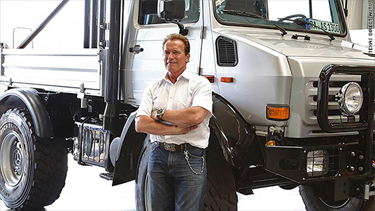 Insane Schwarzenegger truck is for sale
