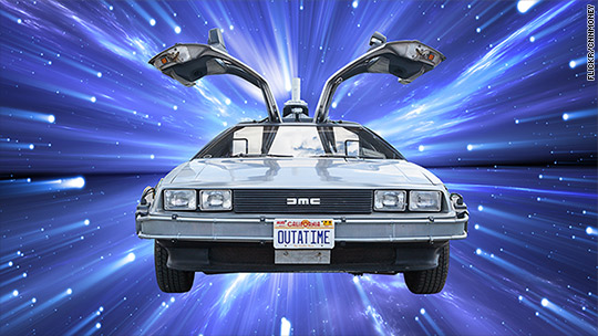 DeLoreans coming Back to the Future
