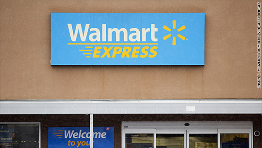Everything must go! 75% off at closing Walmart stores