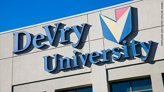 DeVry settlement will refund $100 million to students