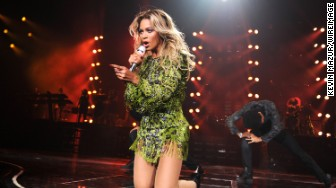 beyonce barclays center 2013