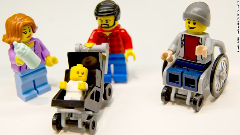 Lego unveils its first disabled figure