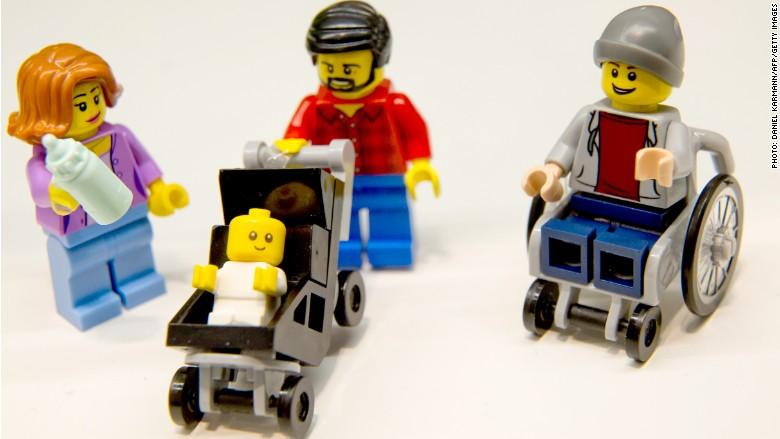cadeira de rodas lego