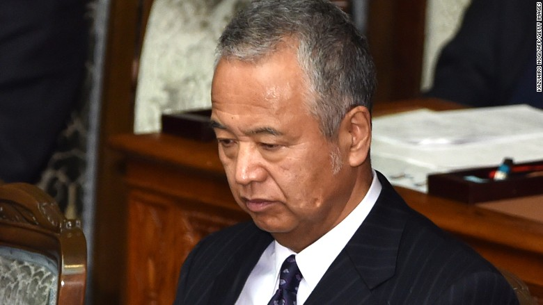 akira amari japan economy minister
