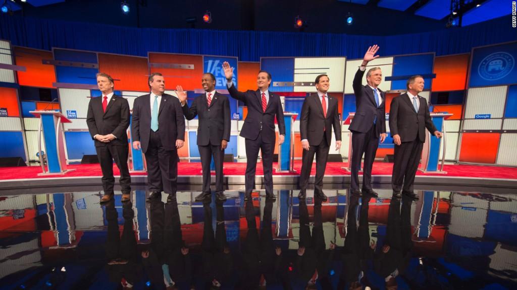 Fox's Trump-less debate in 90 seconds