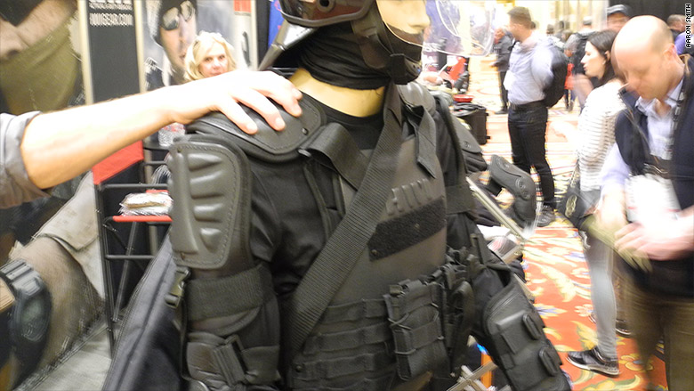 Gop and dem conventions load up with 92 million in police for Best shirt to wear under ballistic vest