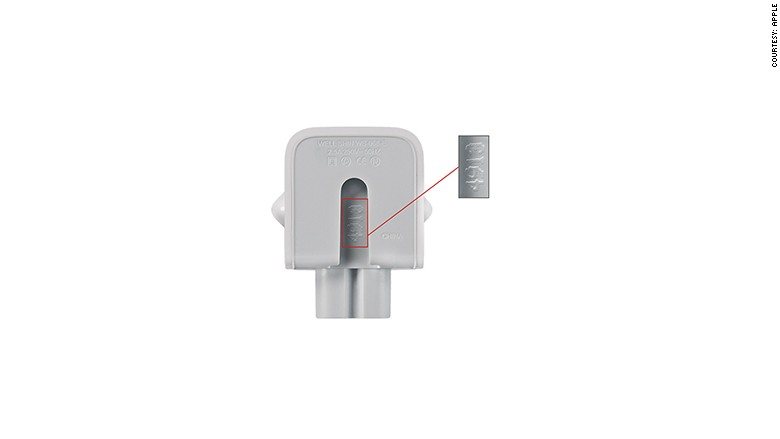 apple adapter affected