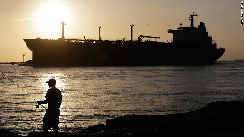 oil tanker fisherman texas