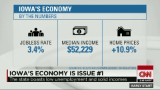The economy is top issue in Iowa