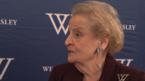 Madeleine Albright: Saudis won't cut oil production
