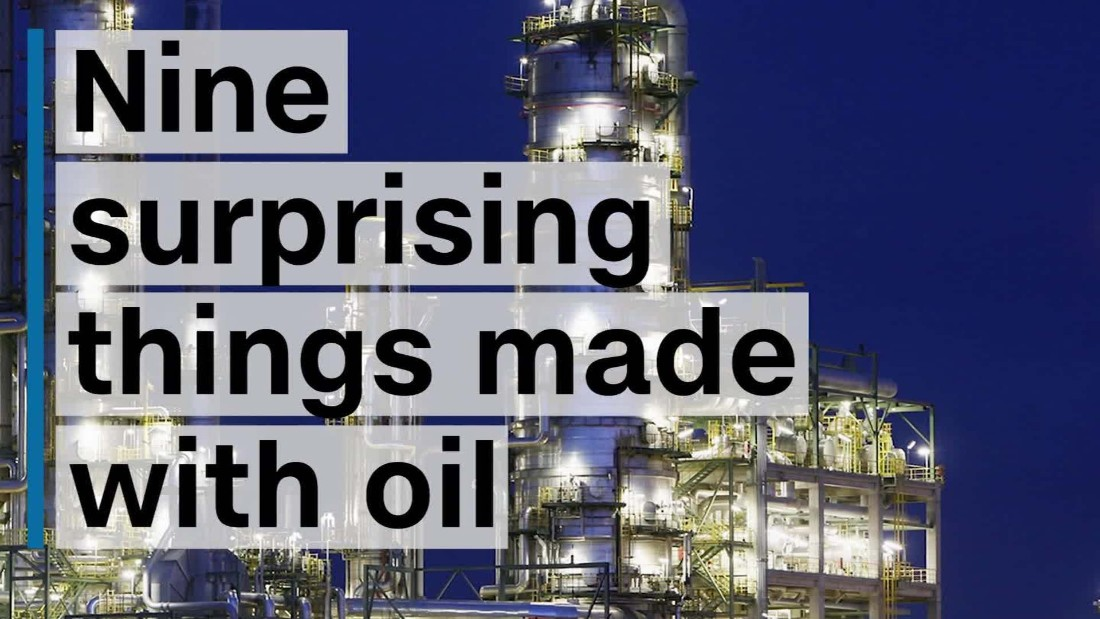 Nine surprising things made with oil