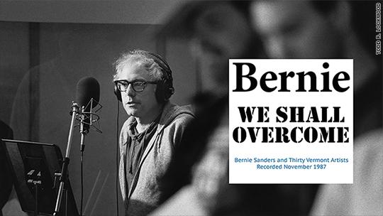 Bernie Sanders' folk album sales surging