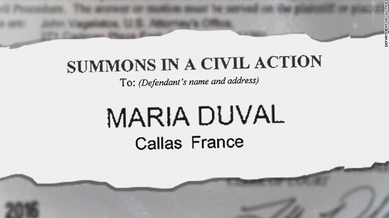 maria duval court summons
