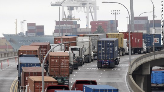 U.S. exports drop for first time since Great Recession