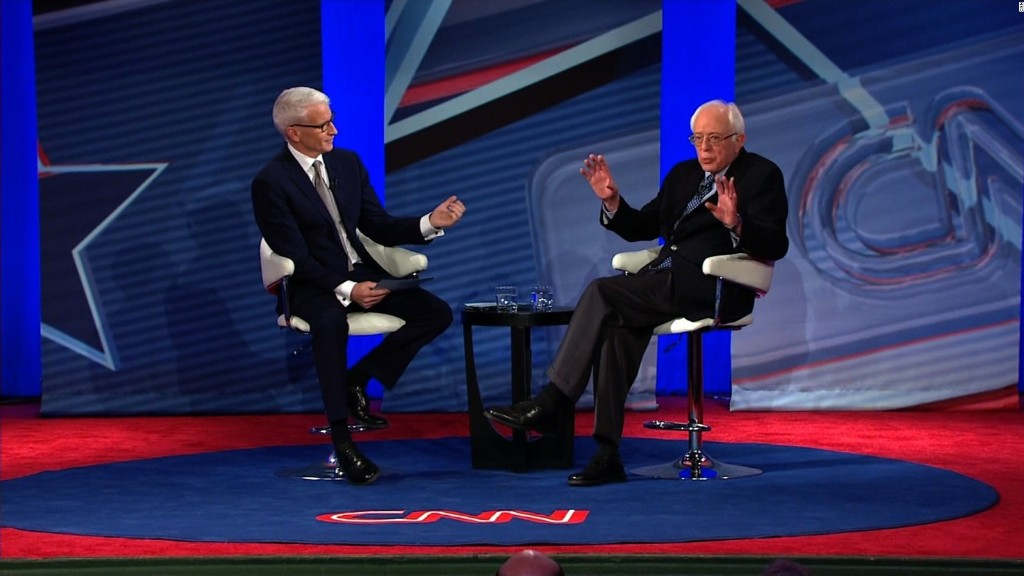 Bernie Sanders jokes: I'm Larry David