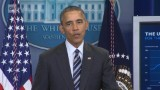 Obama takes economic victory lap at 4.9% unemployment