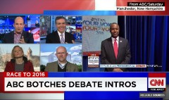 Watch ABC's botched debate intros