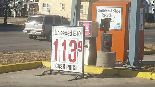 Gas is creeping toward $1 a gallon