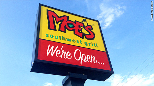 Moe's chides Chipotle: We're open all day