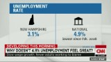 Why doesn't 4.9% unemployment feel great?