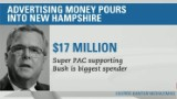 Attack ads flood New Hampshire