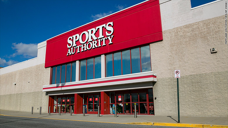 sports authority is bankrupt and closing 140 stores
