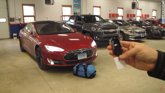 Tesla updates auto-park feature after safety concern