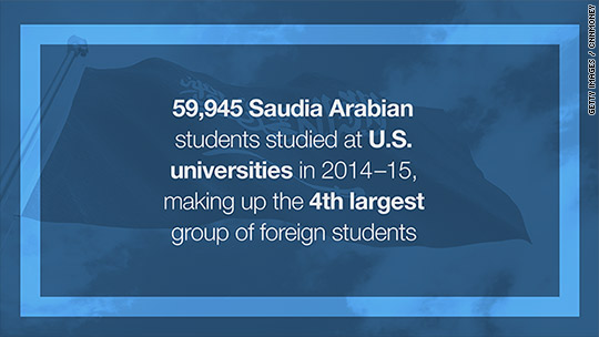 Saudi Arabia cuts funding for students abroad