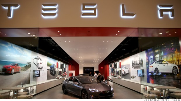 Tesla stock is finally having a good day after unveiling 2016 plans
