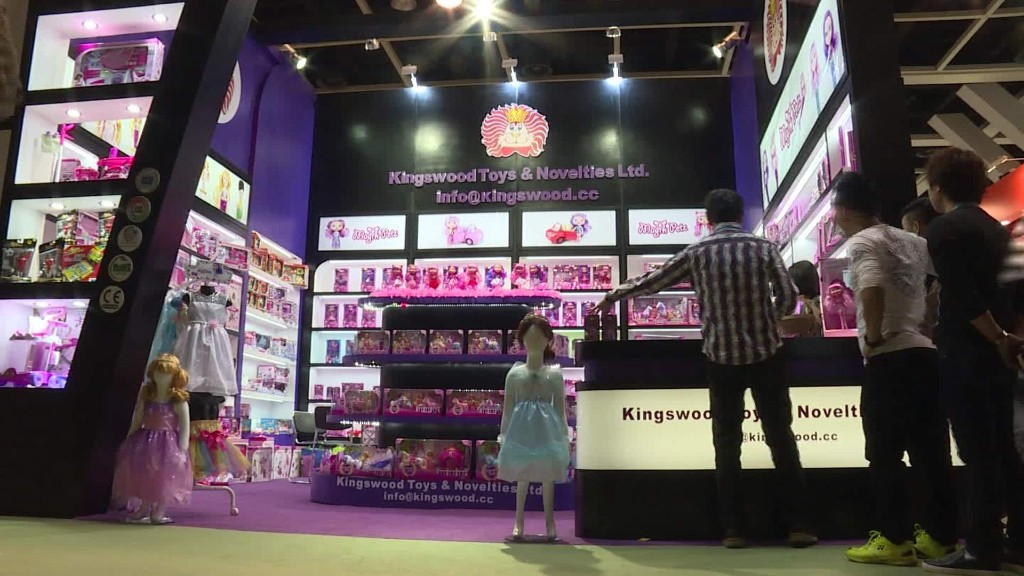 Toy makers aim to capitalize on end of China's one-child policy