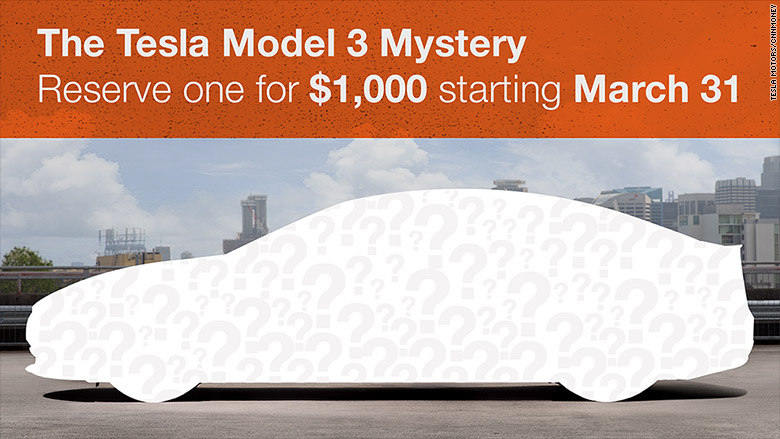 tesla model 3 how much you 39 ll need to reserve one mar 24 2016. Black Bedroom Furniture Sets. Home Design Ideas