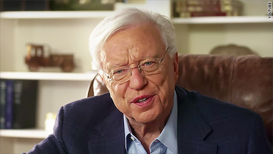 eHarmony's co-founder and star of its ads is stepping down