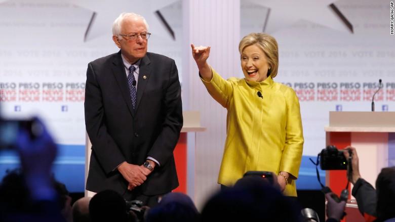 Dem Debate: Clinton, Sanders face off after N.H.