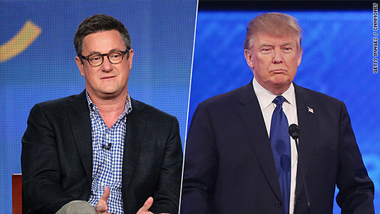 NBC uneasy about Scarborough-Trump friendship