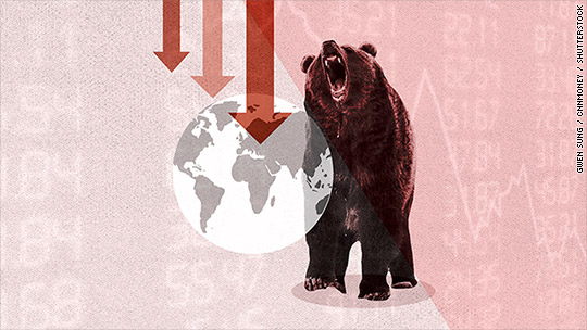 Global stocks sink into bear market