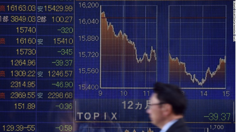 Japan stocks fall 5% as global rout continues