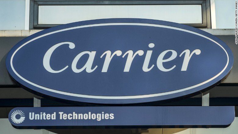 carrier jobs moving mexico