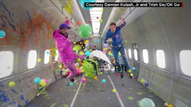 Inside Ok Go's new zero gravity music video