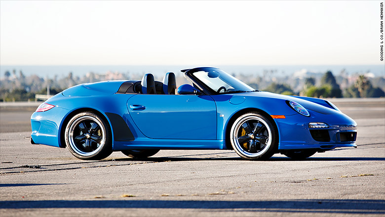 2011 Porsche 997 Speedster Jerry Seinfeld Took 16