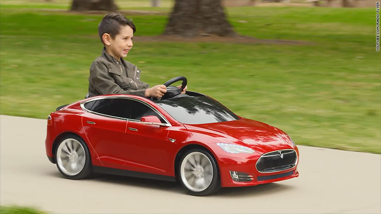 500 tesla model s for kids coming in may. Black Bedroom Furniture Sets. Home Design Ideas