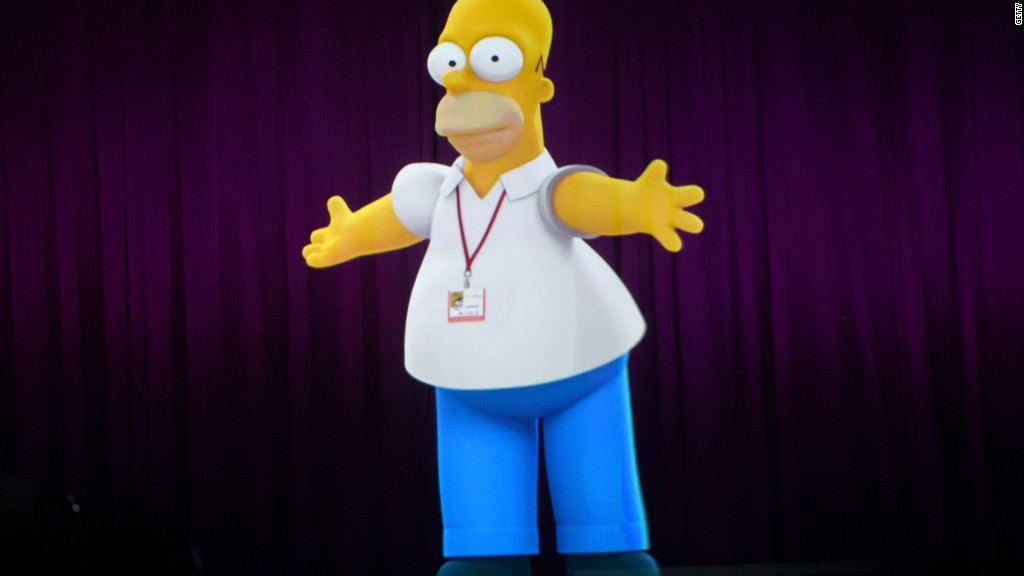 Live from Springfield, it's Homer Simpson