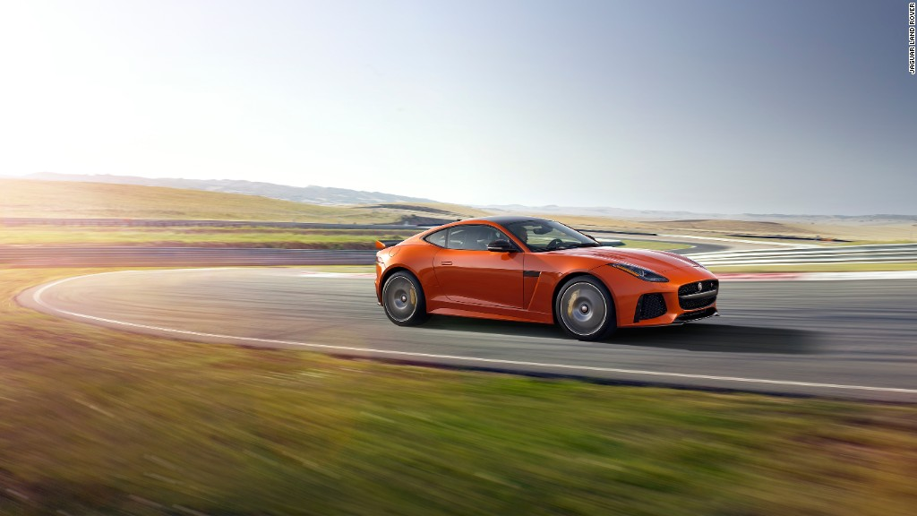 This is Jaguar's fastest production car ever