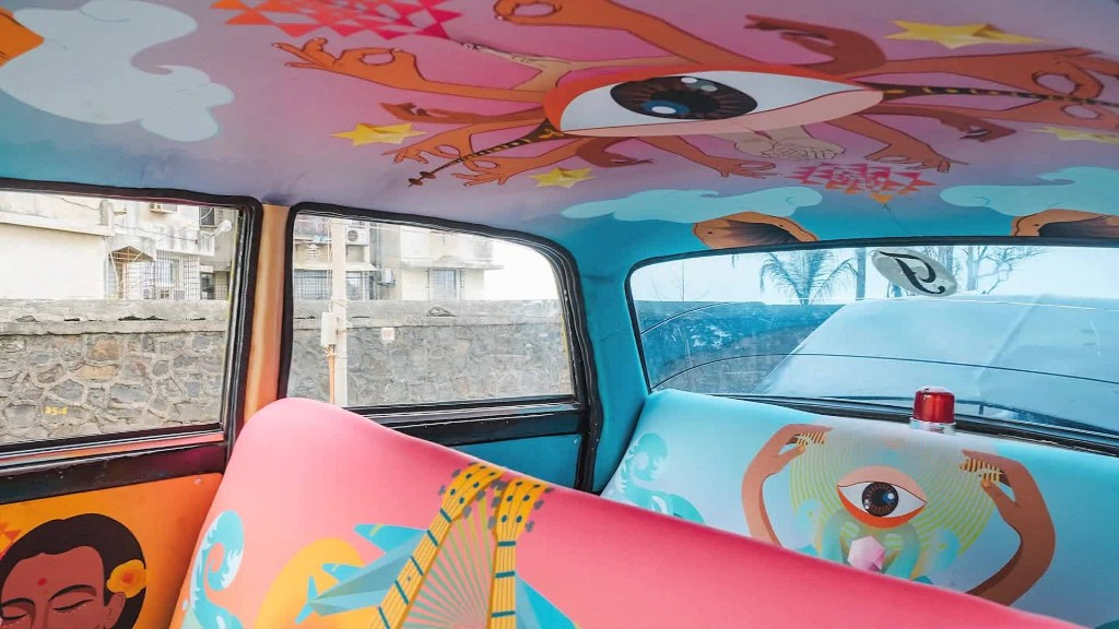 Inside Mumbai's colorful taxis