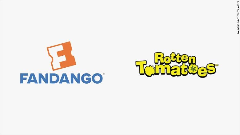 fandango rotten tomatoes logos